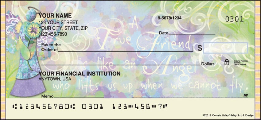 angelic blessings checks - click to preview