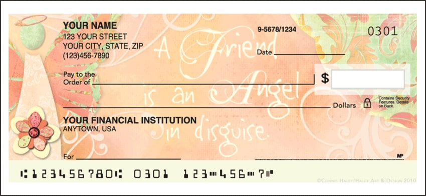 angelic blessings side tear checks - click to preview