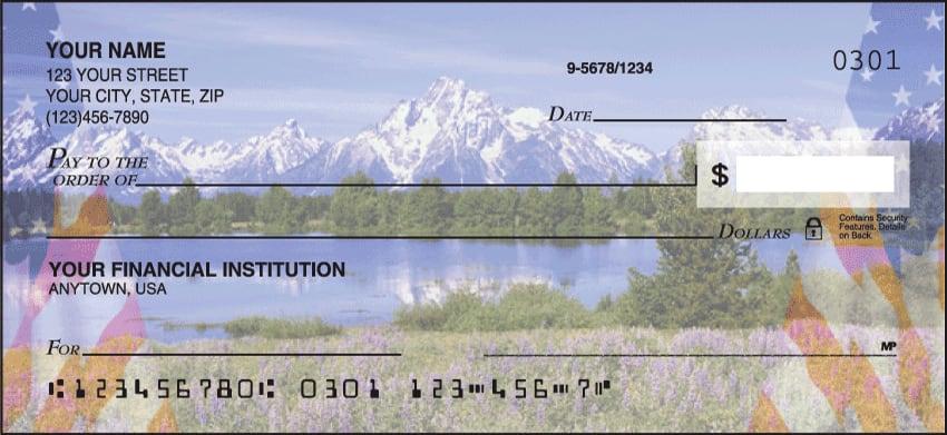 beautiful america 2 checks - click to preview