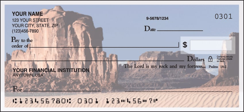 Blessings Checks - click to view larger image