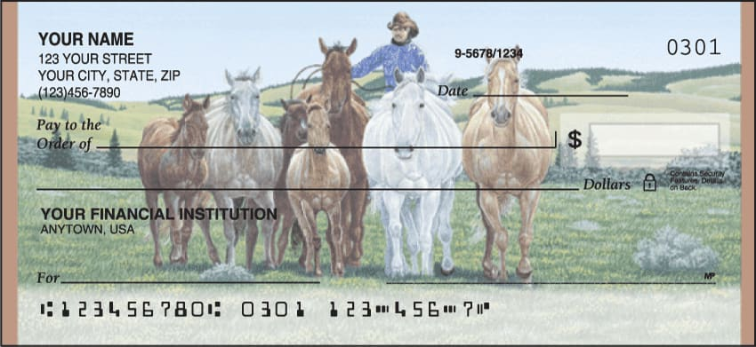 Cowboy Checks - click to view larger image