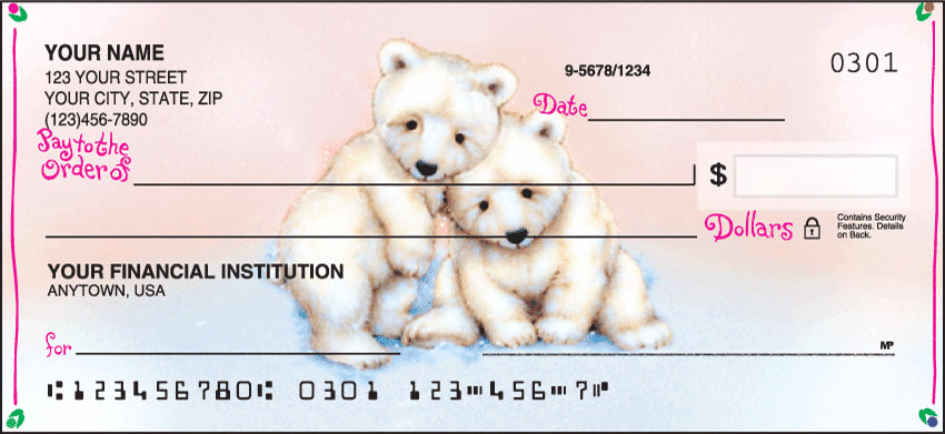 Furry Friends Checks - click to view larger image