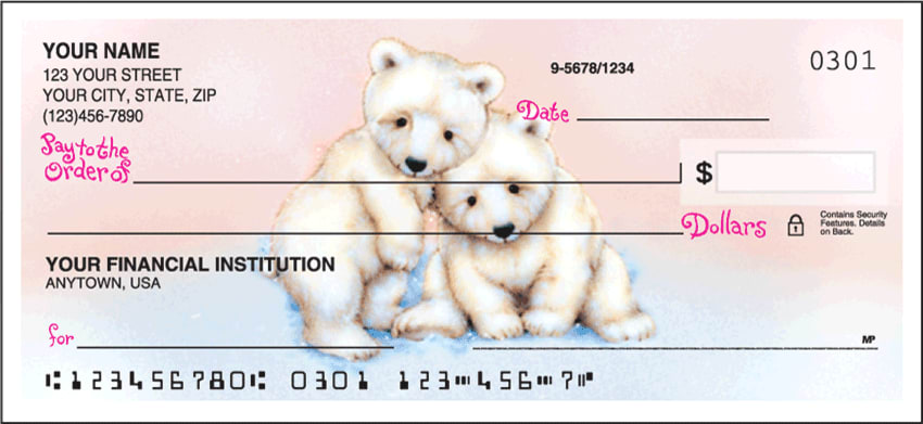 Furry Friends Side Tear Checks - click to view larger image