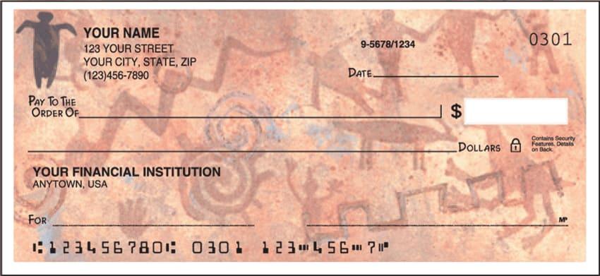 petroglyphs side tear checks - click to preview
