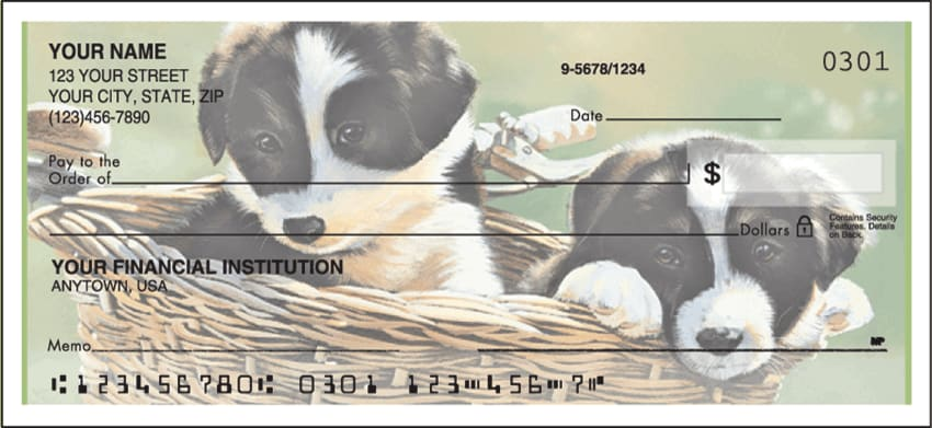 puppy tales side tear checks - click to preview