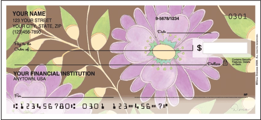 sweet blooms side tear checks - click to preview