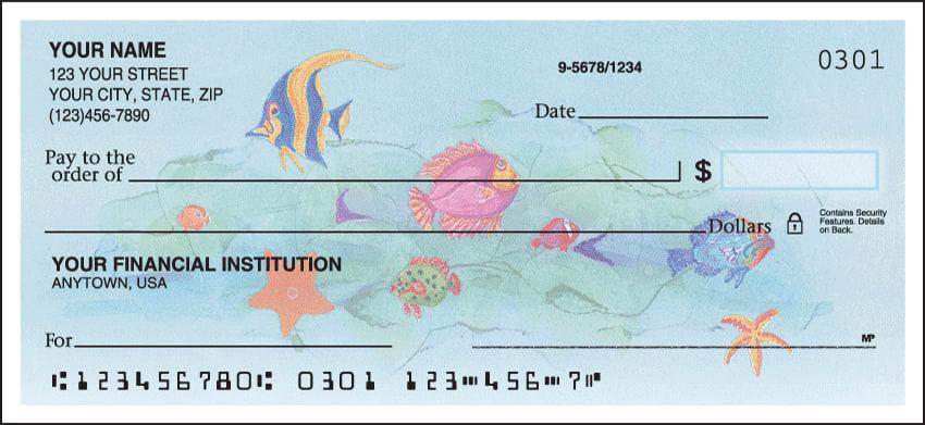 Tropical Fish Checks - click to view larger image
