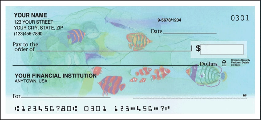 tropical fish side tear checks - click to preview