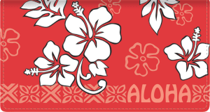 Aloha Side Tear Checkbook Cover – click to view product detail page