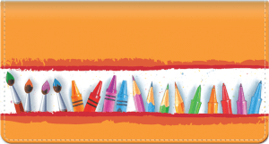 Art Lines Checkbook Cover – click to view product detail page