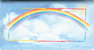 Bright Skies Side Tear Checkbook Cover – click to view product detail page
