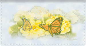 Butterfly Blooms Side Tear Checkbook Cover – click to view product detail page