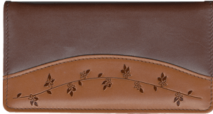 Ivy Accents Side Tear Checkbook Cover – click to view product detail page
