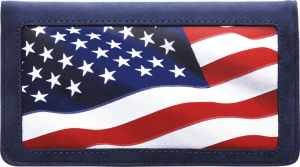 Lady Liberty Side Tear Checkbook Cover – click to view product detail page