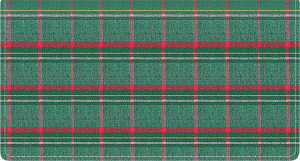 Pay It With Plaid Side Tear Checkbook Cover – click to view product detail page
