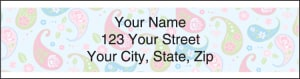 Pretty Posies Address Labels – click to view product detail page