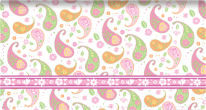 Pretty Posies Side Tear Checkbook Cover – click to view product detail page