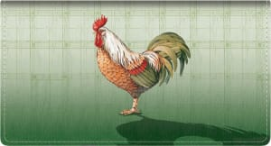 Roosters Checkbook Cover – click to view product detail page