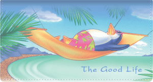 The Good Life Side Tear Checkbook Cover – click to view product detail page