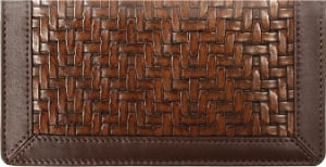 Woven Side Tear Checkbook Cover – click to view product detail page