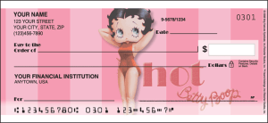 Betty Boop Vintage Side Tear Checks – click to view product detail page