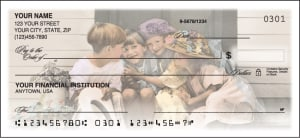 Precious Portraits Checks – click to view product detail page