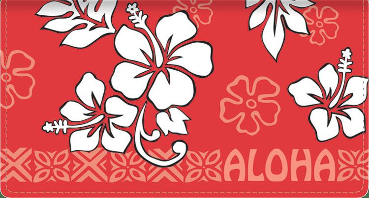 Aloha Side Tear Checkbook Cover