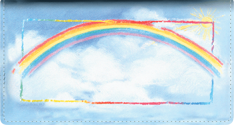 Bright Skies Checkbook Cover - click to view larger image