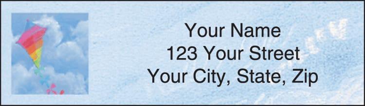 Bright Skies Address Labels
