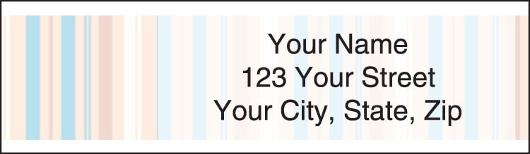 coastline address labels - click to preview