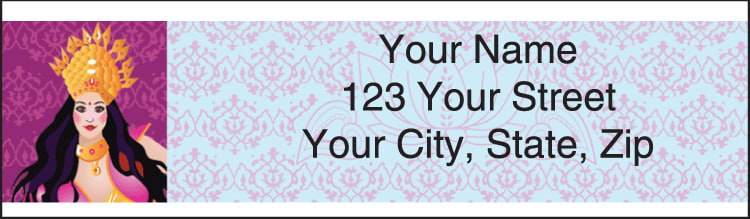 Divine Jewels Address Labels - click to preview