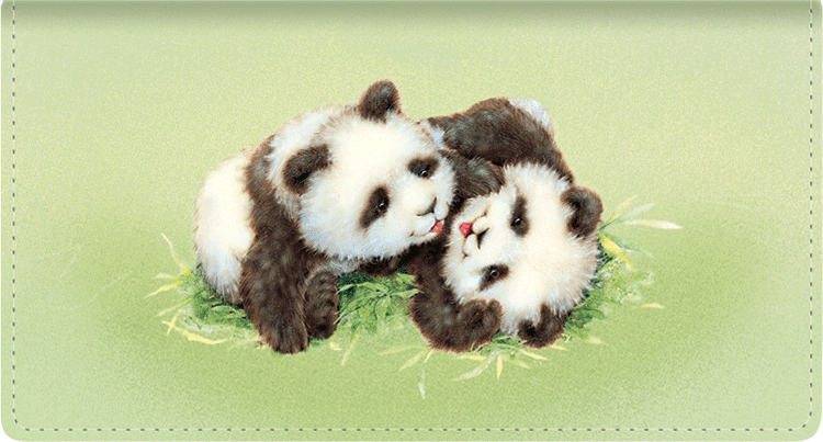 Furry Friends Checkbook Cover