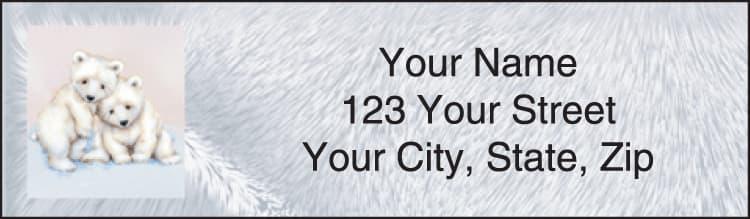 Furry Friends Address Labels