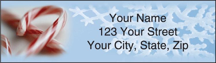 Happy Holidays Address Labels