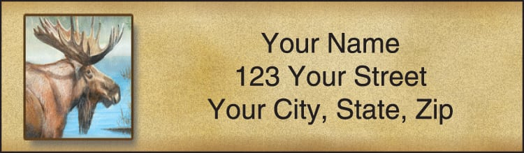 In The Wild Address Labels - click to preview