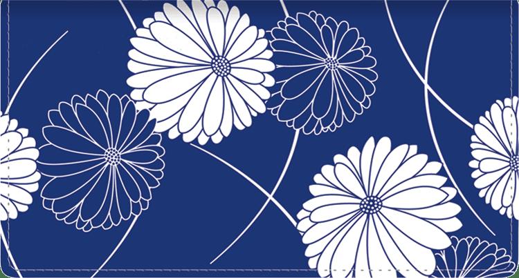 Kimono Side Tear Checkbook Cover