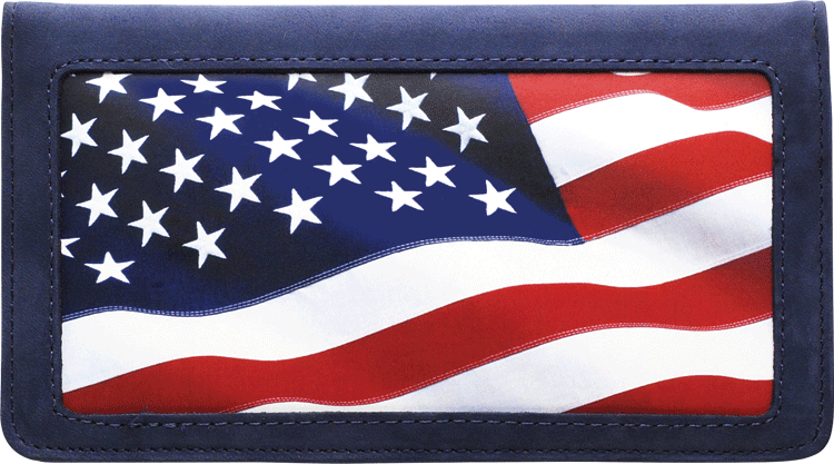 Lady Liberty Checkbook Cover