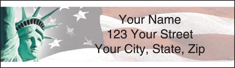 Lady Liberty Address Labels