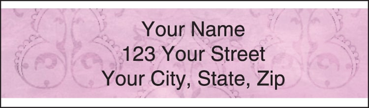 monaco address labels - click to preview