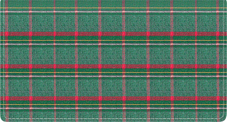 Pay It With Plaid Side Tear Checkbook Cover