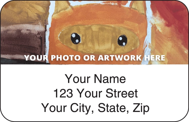 Artistic Photo Return Address Labels - click to view larger image