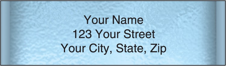 Securiguard Blue Address Labels - click to view larger image