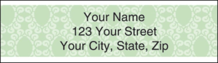 Sentiments Address Labels - click to view larger image