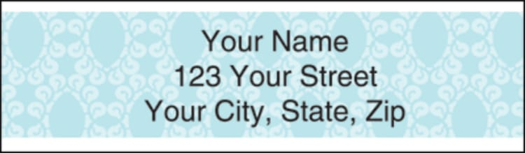 sentiments address labels - click to preview