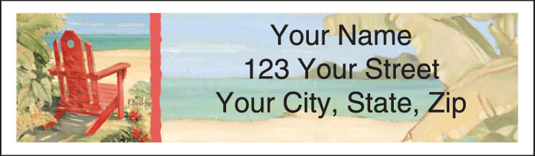 Shoreline View Address Labels - click to view larger image
