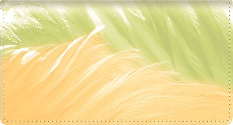 Soft Breeze Checkbook Cover - click to view larger image