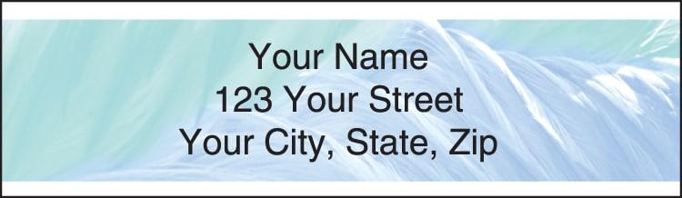 Soft Breeze Address Labels