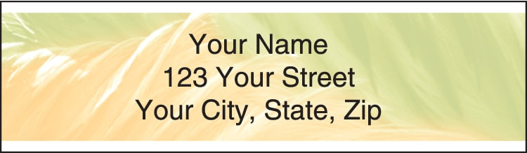 Soft Breeze Address Labels - click to preview