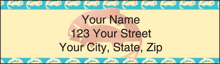 Southwest Art Address Labels