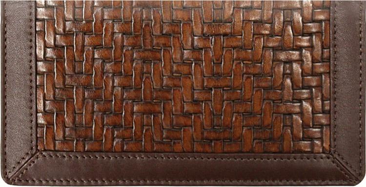 Woven Checkbook Cover